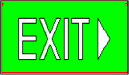 Exit Sign Type R
